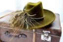 Green fedora from Titfers by Nest in Altrincham