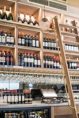 Chester Piccolino wine wall