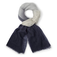 The White Co Blue Scarf