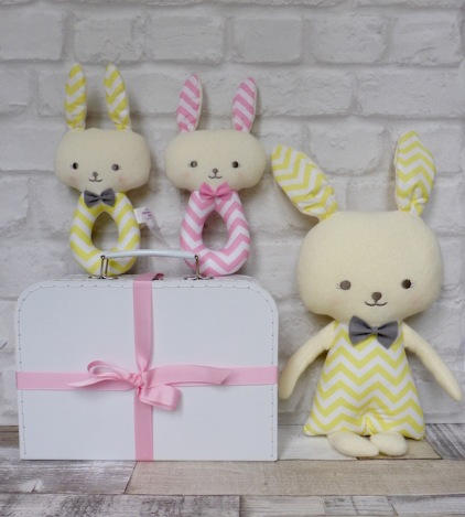 Chevron Bunnies small