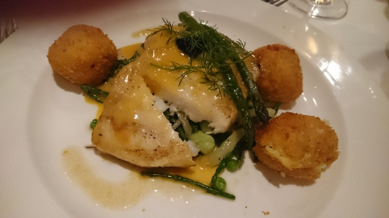 Halibut at La Popote Marton