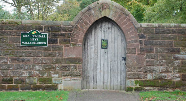 Grappenhall Heys Secret Door narrow
