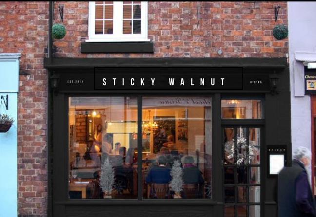 Sticky Walnut restaurant Chester