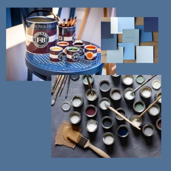 Luxury Cheshire interior design colours