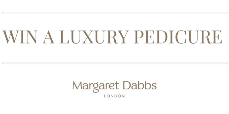 WIN A LUXURY PEDICURE