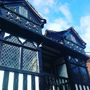 Half timbered prestbury