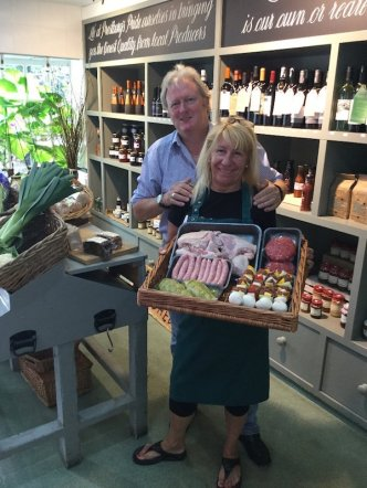 Prestbury Farm shop owners