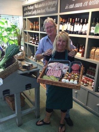 Prestbury Farm shop owners