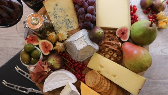 Christmas Cheese Board 2